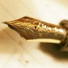 ellia: gold fountain pen nib (fountain pen)