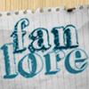 melina: Fanlore on a piece of notebook paper (Fanlore)