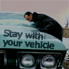 jekesta: Stay with your vehicle (Stay with your vehicle)