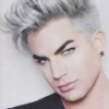 darkemeralds: Adam Lambert with silver hair (Adam Lambert)