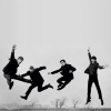 jekesta: Beatles LEAPING (Beatles)
