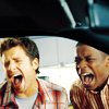 jekesta: Shawn and Gus screaming (psych)