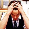 auburn: Neal Shoving His Hands Through His Hair (Neal Overwhelmed)