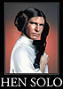 liv: Composite image of Han Solo and Princess Leia, labelled Hen Solo (gender)