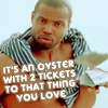 busaikko: an oyster with two tickets to that thing you love (x that thing you love)