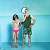 goodbyebird: The Middleman: Wendy and the Middleman stand around  in their underwear. (Middleman)