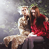 grlnamedlucifer: Doctor Who's River, trying to comfort Amy in the forest ([who] lost in the woods)