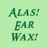 pegkerr: (Alas ear wax!)