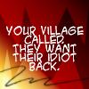 glowing_dragon: (Village Idiot)
