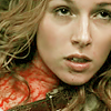 mrstotten: Supernatural: Jo on the floor, covered in blood, her expression clearly conveying THIS IS BULLSHIT. (SPN → are you kidding me with this shit?)