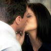 veleda_k: Peter and Elizabeth from White Collar, kissing (White Collar: Peter/El kiss)