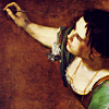 turlough: Artemisia Gentileschi painting self-portrait, 1630s ((other) create yourself)