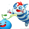 john_egbert: Rocket from Dragon Quest Heroes: Rocket Slime. ((DQH) Rocket *Catnip*)