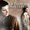 lilyleia78: Dean looking over shoulder at Cas captioned Old Fashioned Heartbreak (Supernatural: Old fashioned heartbreaker)