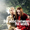 "twtd: Dr. Who- River holding Amy ""the wood between the worlds"" (Dr. Who- River and Amy ""the wood between)"