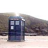 asra: The TARDIS at Bad Wolf Bay (TARDIS)