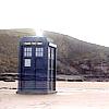 asra: The TARDIS at Bad Wolf Bay (TARDIS)