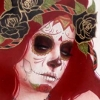 death_gone_mad: A La Catrina picture (La Catrina side)