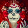 death_gone_mad: Another La Catrina picture (La Catrina front)