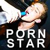 puckling: Tyler Seguin on his knees. Not actually sucking cock. (Porn Star)