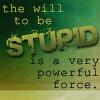 mathsnerd: ((vorkosigan) will to be stupid)