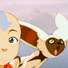 kaigou: (1 momo and aang)