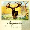 quillori: illustration of megaloceros, a giant prehistoric deer  (primeval: megaloceros)