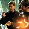 busaikko: John and Cam shooting with finger guns (SGA SG1 John Cam shooting fire)