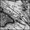 quillori: map (subject: map (b&w), theme: travel (map))