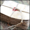 mokie: A stack of old letters, tied with twine (dear letter)