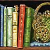 quillori: illustration of books (theme: books (illustration), stock: books)