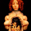 mokie: A doll with an open torso featuring a diorama (yay for girls, hormones, shhh, secretive, freaky)