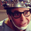 mokie: Ghostbusters' Vinz Clortho wears a collander and answers questions (nerdy)