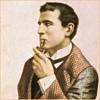 quillori: illustration of Sherlock Holmes (sherlock holmes: holmes, theme: fanfic (history of), mood: considering, mood: deductive)