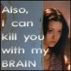 rachelmanija: (Firefly: Kill you with my brain)