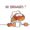 scrie: ([default]no brownies) (Default)