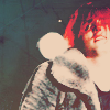 turlough: Gerard Way in faux furcoat, onstage at the Roseland Ballroom, NYC, 3 December 2010 ((mcr) gerard way is my favourite diva)