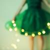 battynora: (green skirt fairy lights, skirt lights)