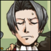 truthsnomiracle: Edgeworth is wearing an irritated, snobbish, offended frown. (Annoyed)