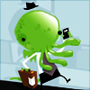 cricketmask: chibi cthulhu on a cell phone (call of cthulhu)