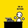 cricketmask: (i'm a riter!)