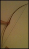 tuzemi: My friend's hand holding the longbow (longbow)
