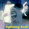 ximen: made by me! (lightning kick!)