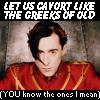 thehefner: (Titus: Cavort Like the Greeks!)