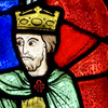 quillori: detail of a stained glass window (theme: history (stained glass), subject: stained glass, stock: stained glass)