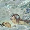 quillori: detail of the prince's rescue from an edition The Little Mermaid (theme: love (mermaid), theme: fairy tales (little mermaid), stock: little mermaid)