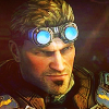 elaminator: (Gears of War: Judgment - Baird (smirk))