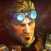 elaminator: (Gears of War: Judgment - Baird (smirk))