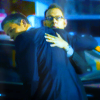 "dorinda: From ""Person of Interest"": Finch supports a wounded Reese. (POI-rescue)"