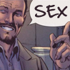 "objectivelypink: Ultimates Tony saying ""SEX"" (tony = SEX)"